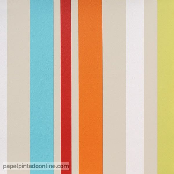 Papel pintado rayas 593329 papel pintado funny walls - Papeles pintados rayas verticales ...