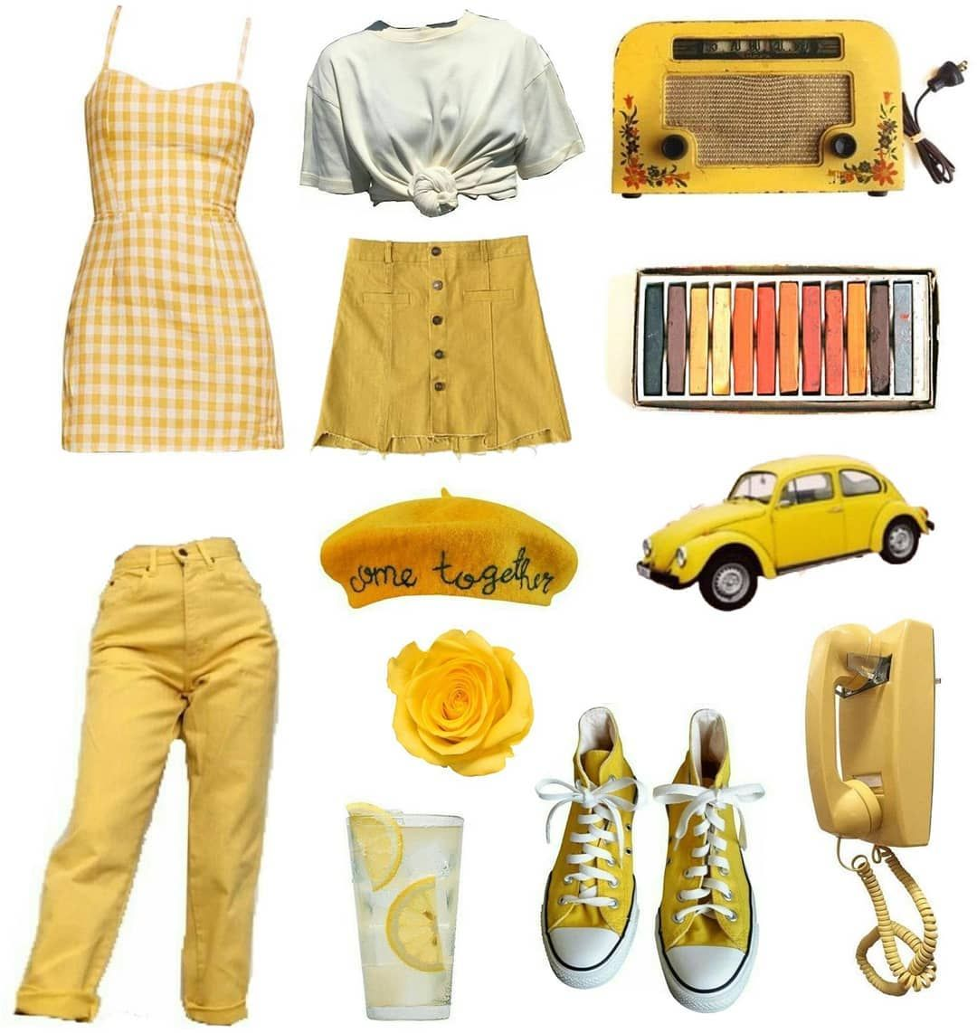 Nichememepage Nichememes Nichememe Aesthetic Aesthetics Arthoe Moodboard Yellow Png Pngs Outfits Fashio Artsy Outfit Mustard Outfits Yellow Clothes
