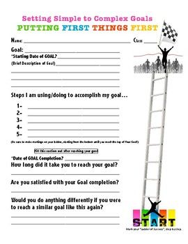 Putting first things first goal setting worksheets pinterest putting first things first goal setting worksheets pinterest worksheets and goal ibookread ePUb
