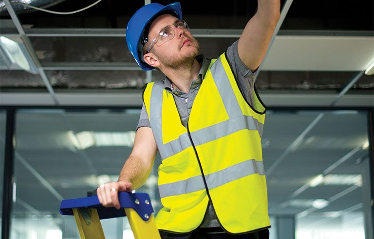 Preventing ladder injuries one step at a time injury