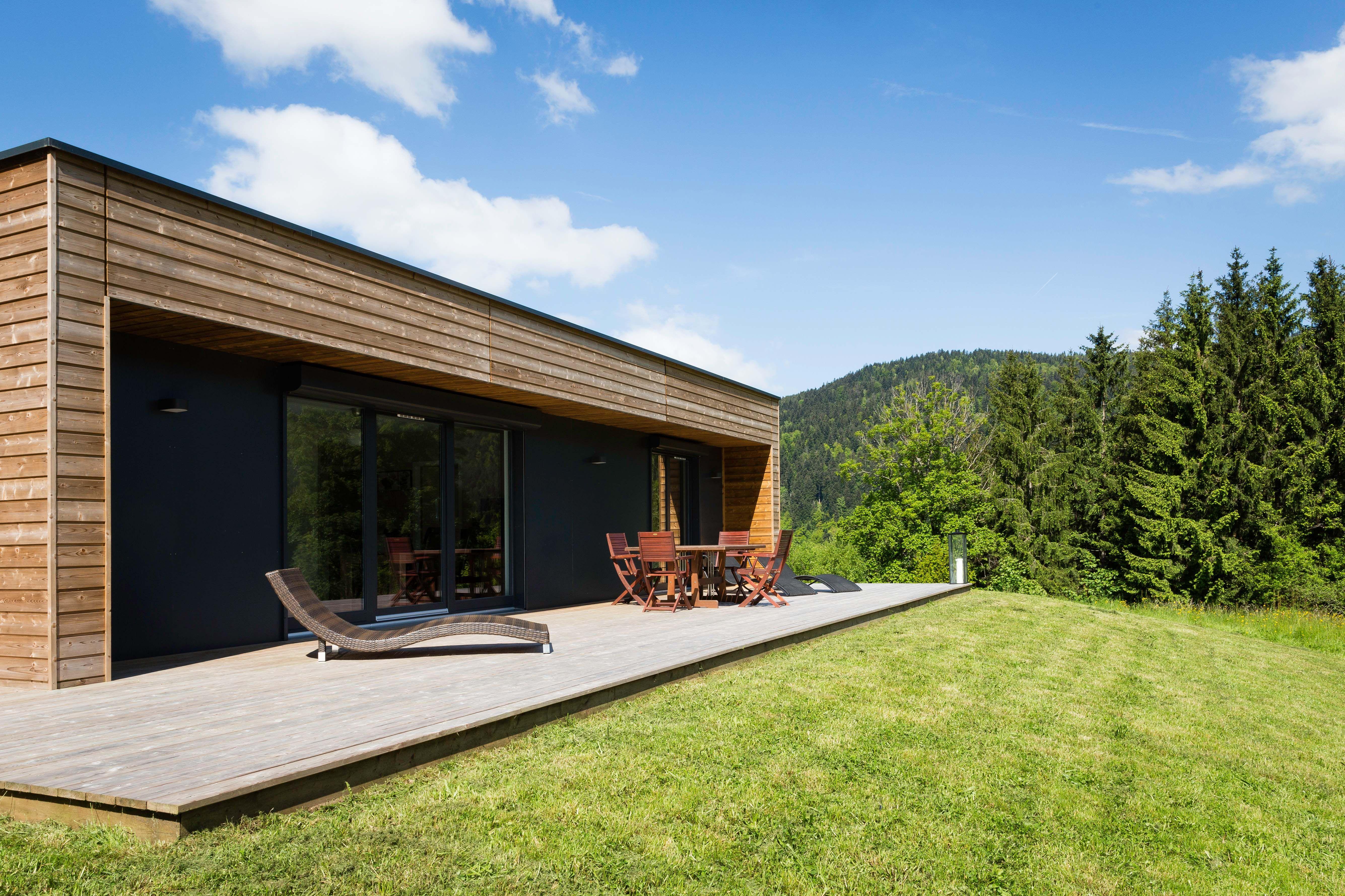 constructeur archi design maisons ossature bois 100 modulables fabrication