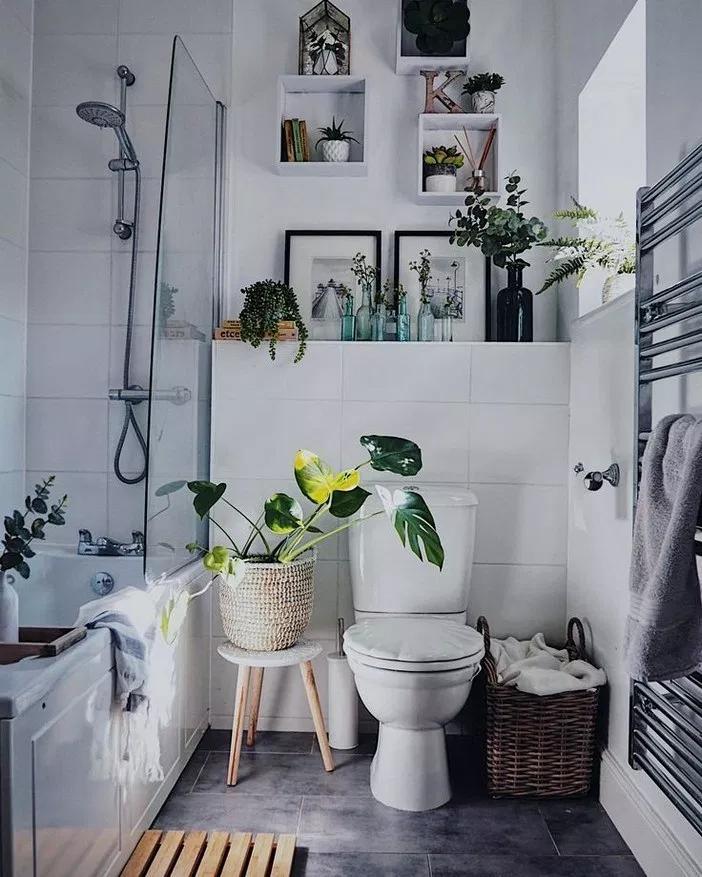 24 modern small bathroom decor ideas on a budget 14