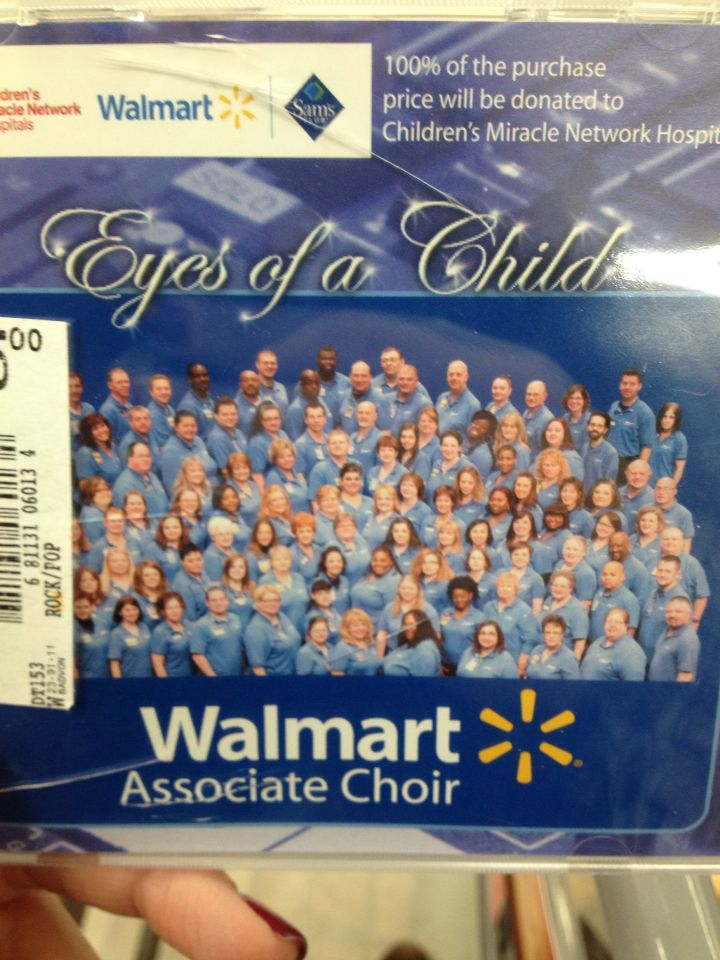 Because Everyone Wants A Cd Of Walmarts Associate Choir What Is A