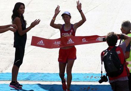 Natalia Romero, atletismo (maratón)