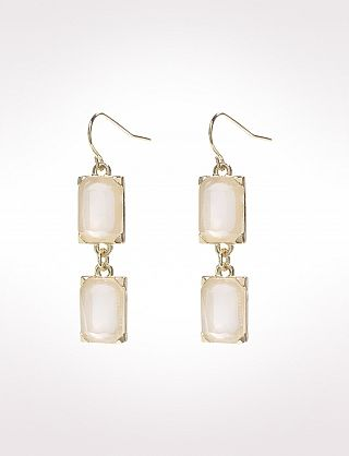 Transpa Square Drop Earrings Dress Barn