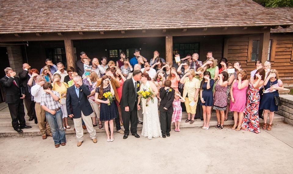 Group photo on porch, Raven Lodge, Huntsville State Park, Bella Vita Photography