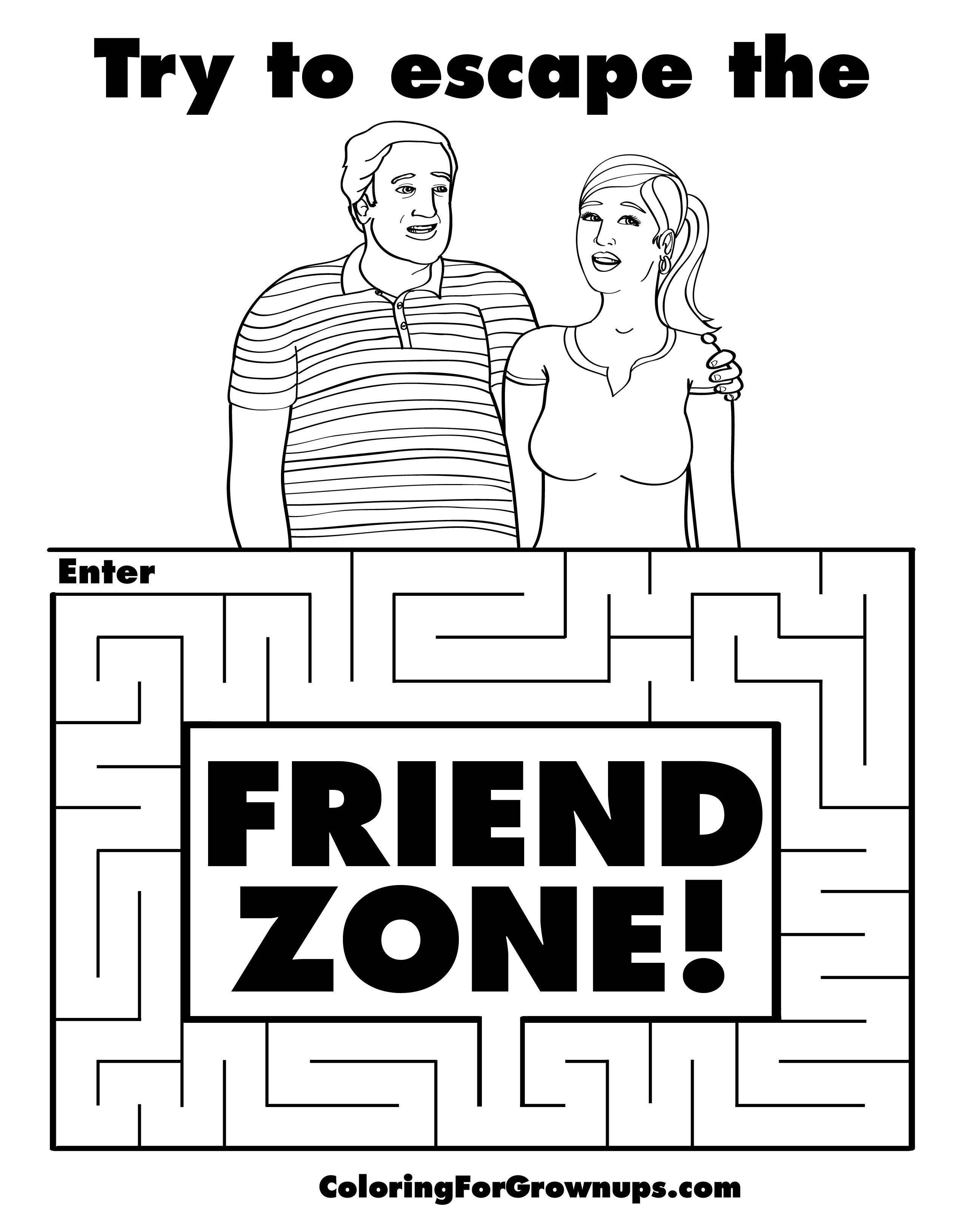 How to escape friendzone
