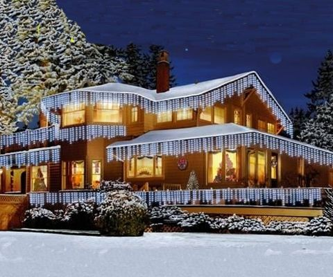 How To Decorate The Outside Of Your House In Christmas Lights Design Ideas