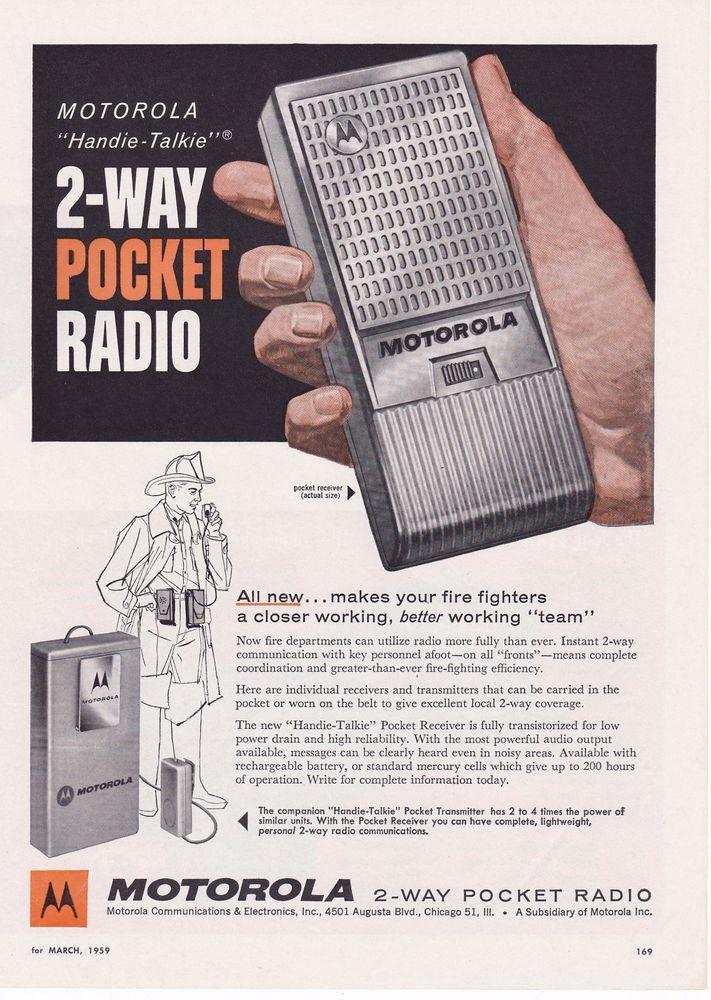 1964 Antenna Specialists M-67 Mobile Cb Radio Antenna Vtg Print Ad Merchandise & Memorabilia
