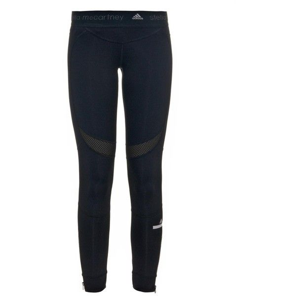 ADIDAS BY STELLA MCCARTNEY Performance leggings (€54) ❤ liked on Polyvore featuring activewear, activewear pants, pants, trousers, adidas activewear, adidas sportswear and adidas