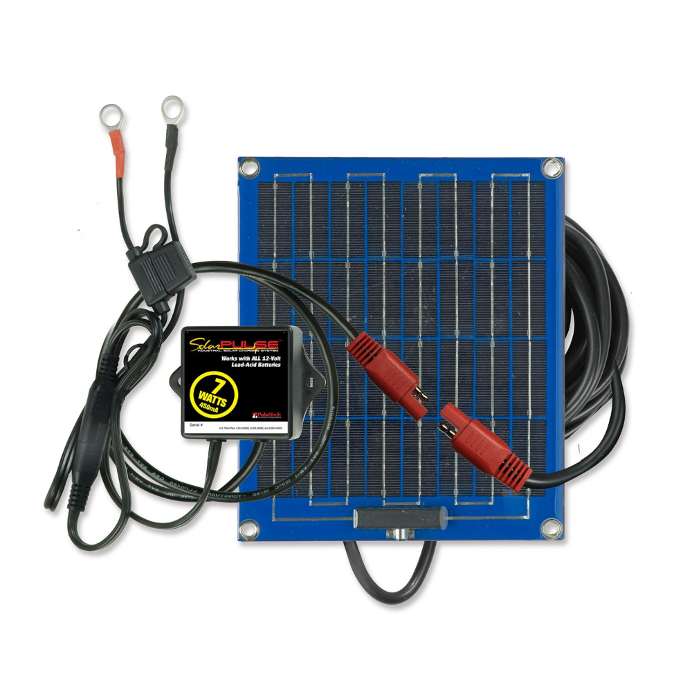Pulsetech Solarpulse Sp 7 Solar Battery Charger Maintainer In 2020 Solar Battery Charger Battery Charger Solar Battery