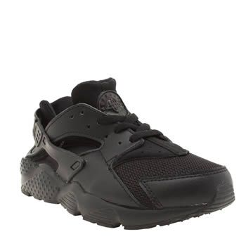 Nike Black Huarache Run Unisex Junior A 90s icon sprints onto the scene for  present day