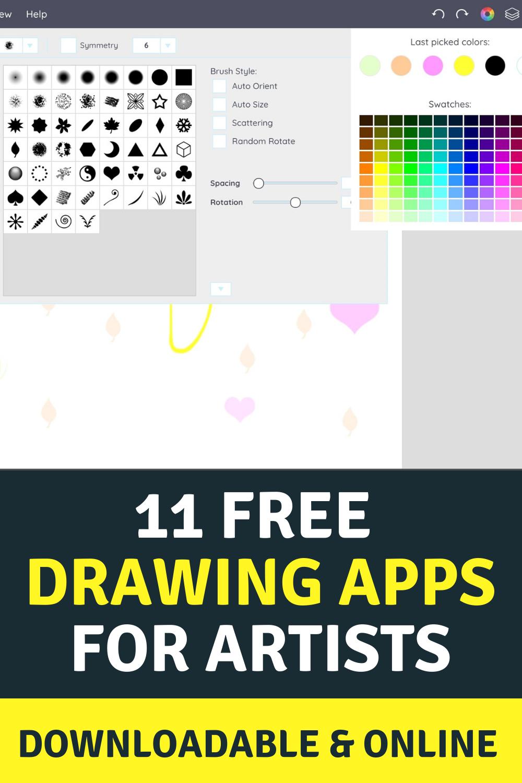 Best Paint Apps 11 Free Drawing Software Online Downloadable In 2020 Free Drawing Software Free Art Software Paint App