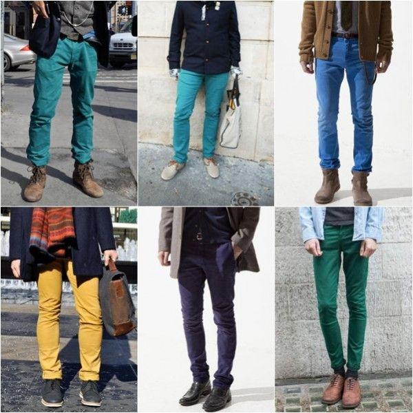 81ba63c1fb Moda masculina - Saiba como usar a tendência das calças coloridas ...