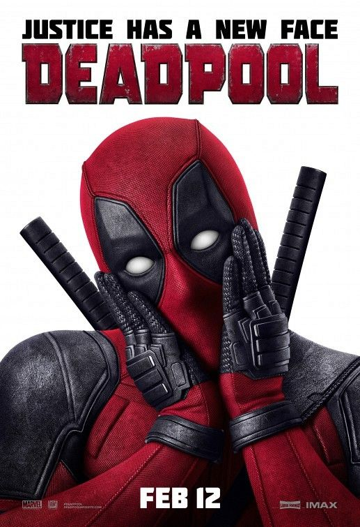 Deadpool Movie Poster 20161 New Deadpool Posters Share The Love For
