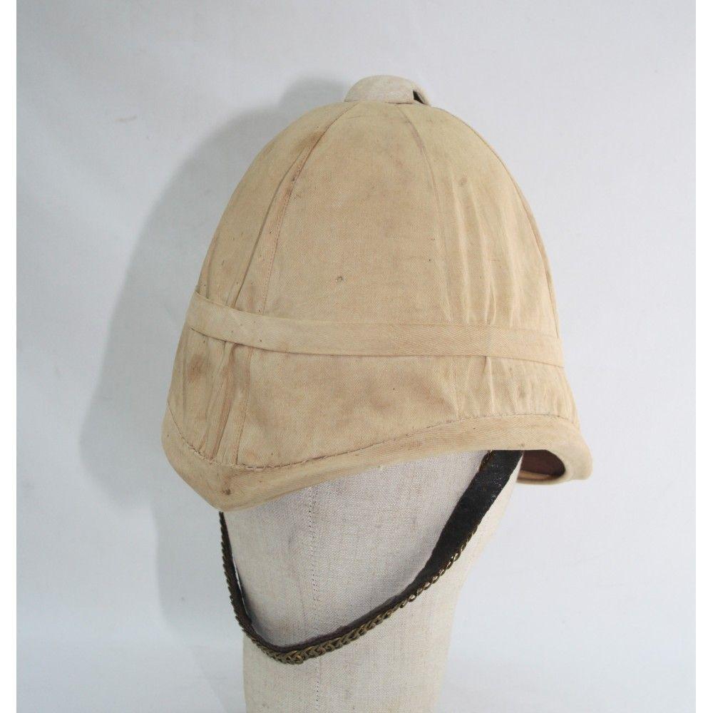 3c2a2350e555c British sun helmet 1850's Worn in India | Armor and military helmets ...