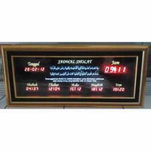 Jam Digital Masjid Jual Jadwal Sholat Digital Otomatis Murah 3