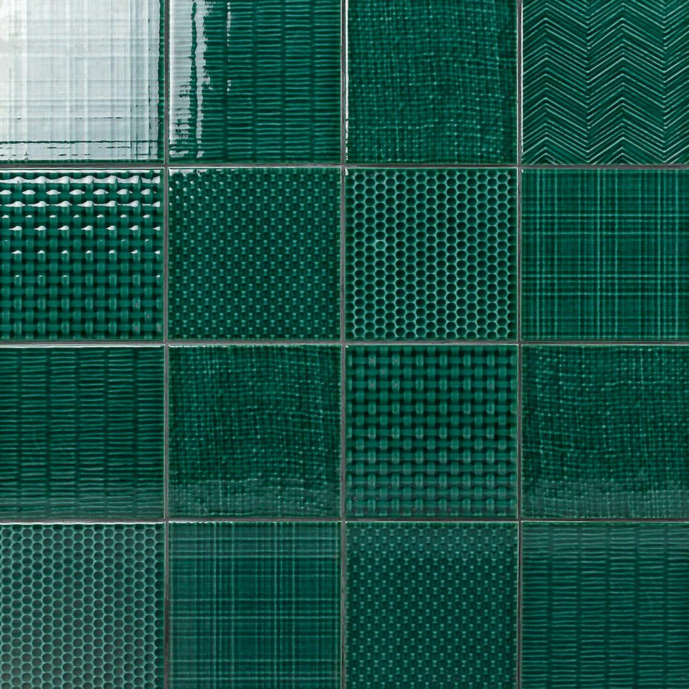Ivy Hill Tile Oakland Decor Dark Green 6 In X 6 In 7mm