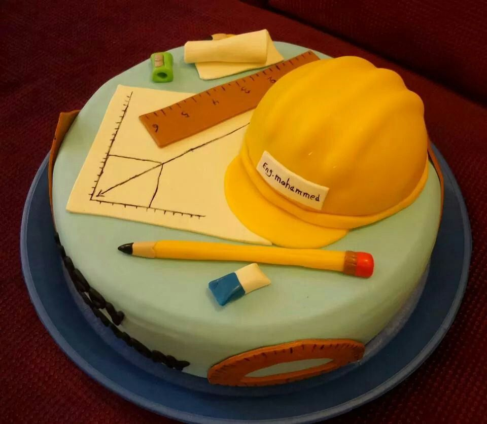 Cake Design For Civil Engineer : engineer cake WORK Pinterest Cake, Fondant and ...