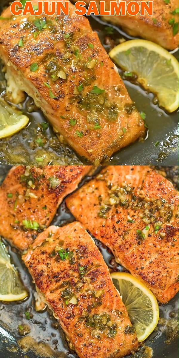 Cajun Salmon This Cajun Salmon recipe is an ultra-