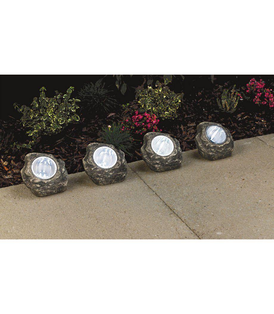 Solar Rock Lights Solar rock lights, Modern outdoor