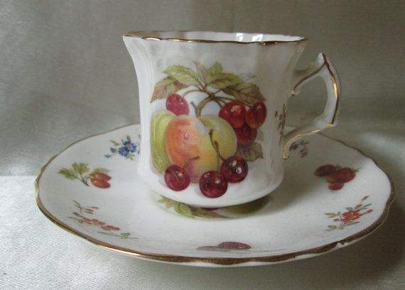 Vintage Hammersley Bone China Tea Cup and by teacupsfromsharon, $28.00