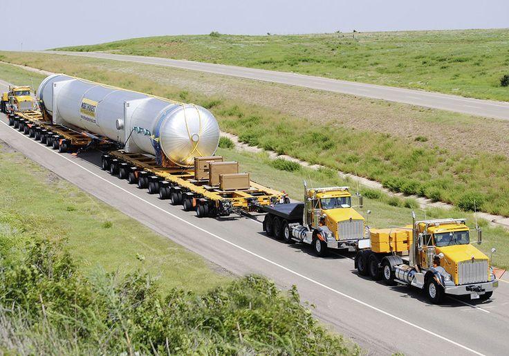 Heavy hauled trucks