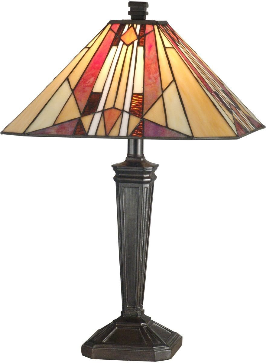22 inchh 1-Light Tiffany Table Lamp Mica Bronze | Tiffany ...