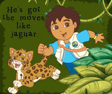 He's got the moves like jaguar.