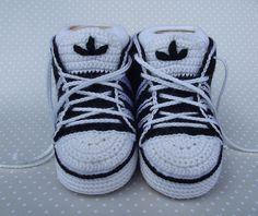 zapatitos de bebe tejidos adidas