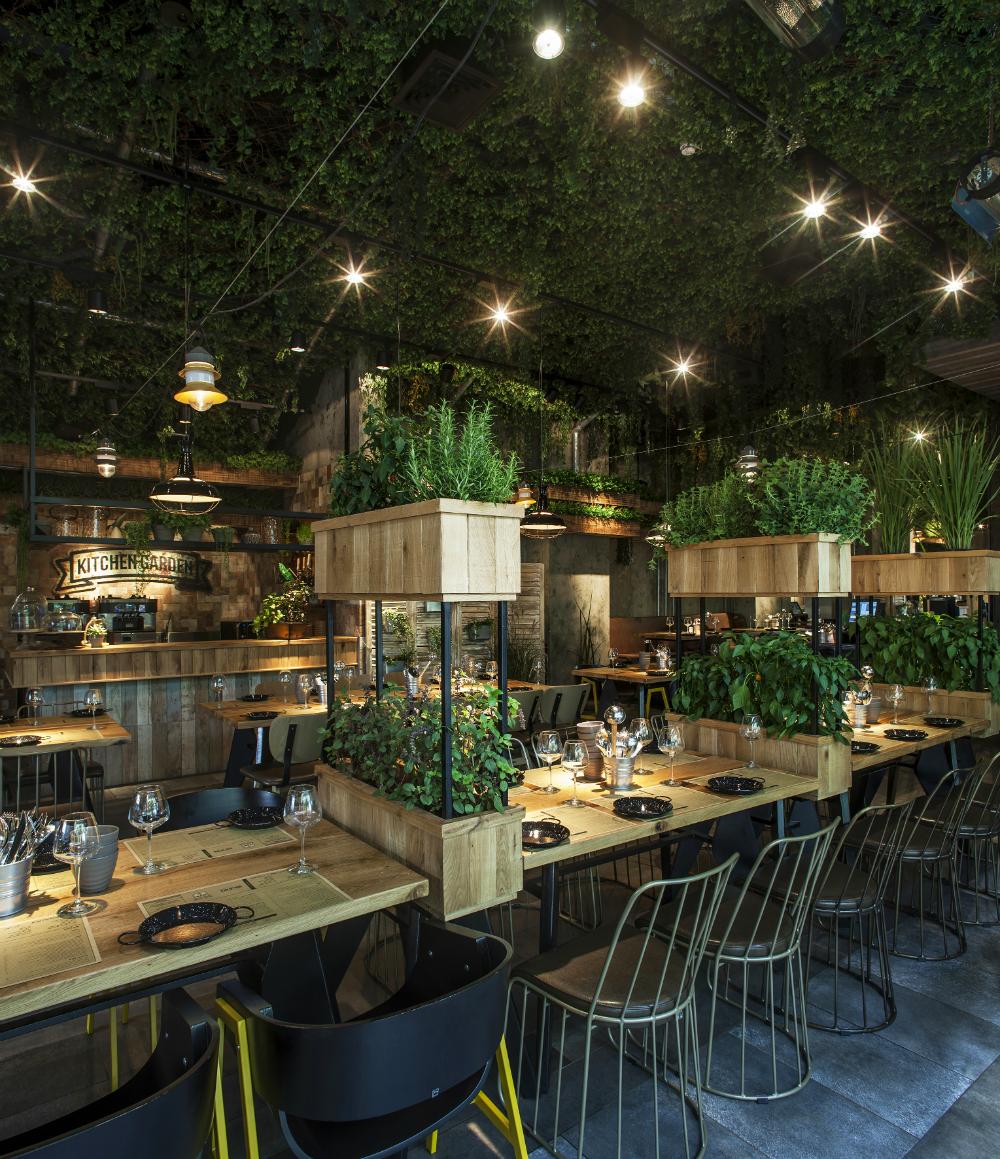 Restaurant kitchen design  Segev Kitchen Garden Studio Yaron Tal   Yoav Gurin  Bar