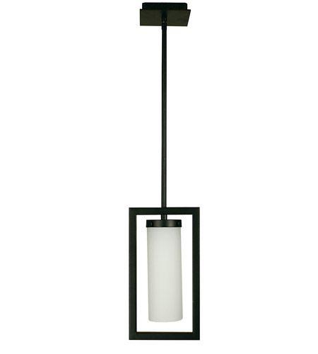 Master Bath Pendant Option: HA Framburg Theorem 1 Light Pendant in Matte Black 1196MBLACK #lightingnewyork #lny #lighting