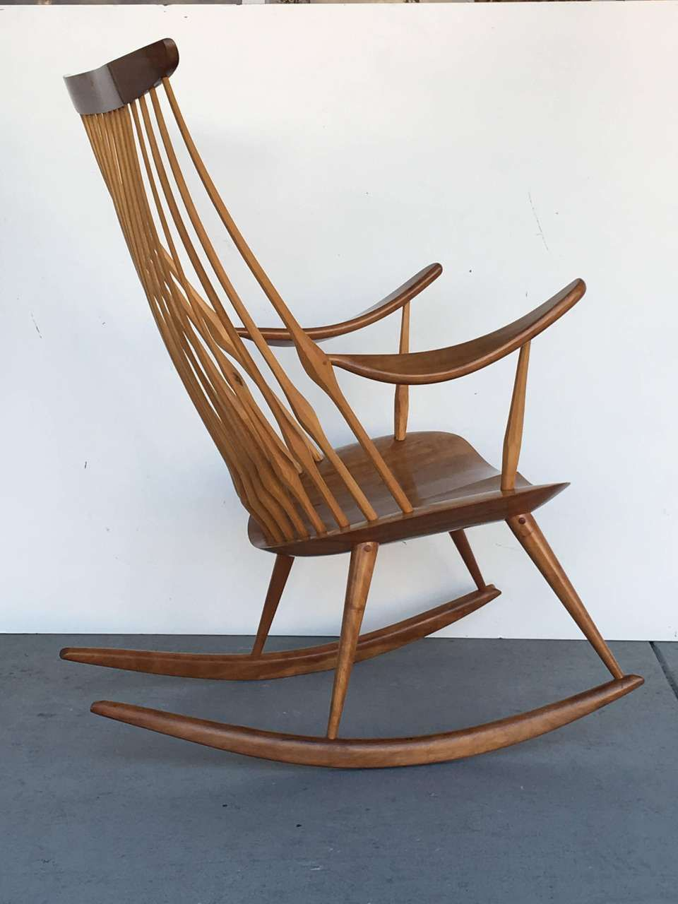View This Item And Discover Similar Rocking Chairs For At 1stdibs Most Comfortable Chair Beautifully Handcrafted A Work Of Art By Any