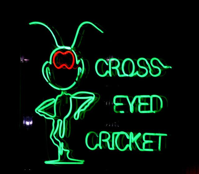 Cross Eyed Cricket Restaurant In Evansville We Are There With Eric At This His Senior Engineering Project Cool Bars Engineering Projects Cross Eyed