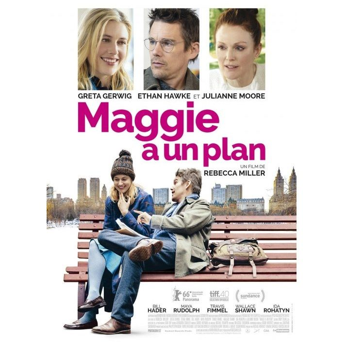 Maggie a un plan - Rebecca Miller https://animallecteur.wordpress.com/2016/04/30/maggie-a-un-plan-rebecca-miller/