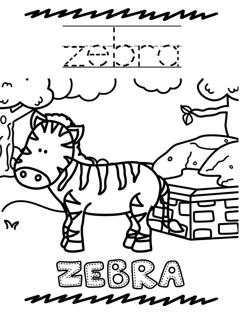 Free Printable Zoo Animal Coloring Book For Kids Animal Coloring Books Coloring Books Zoo Animals