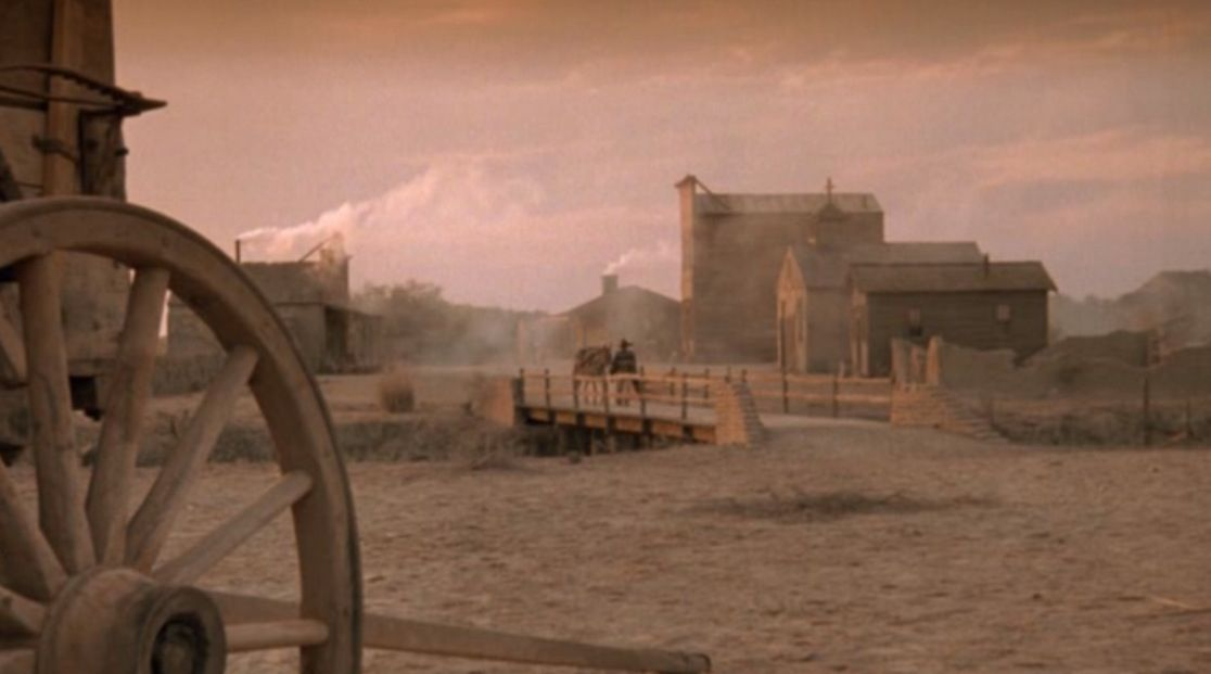 The fictional town of Lonesome Dove.