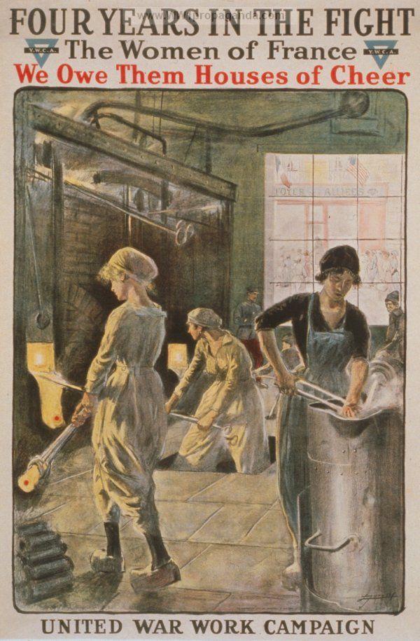 Examples of Propaganda from WW1 | Women in WW1 | Vintage ...