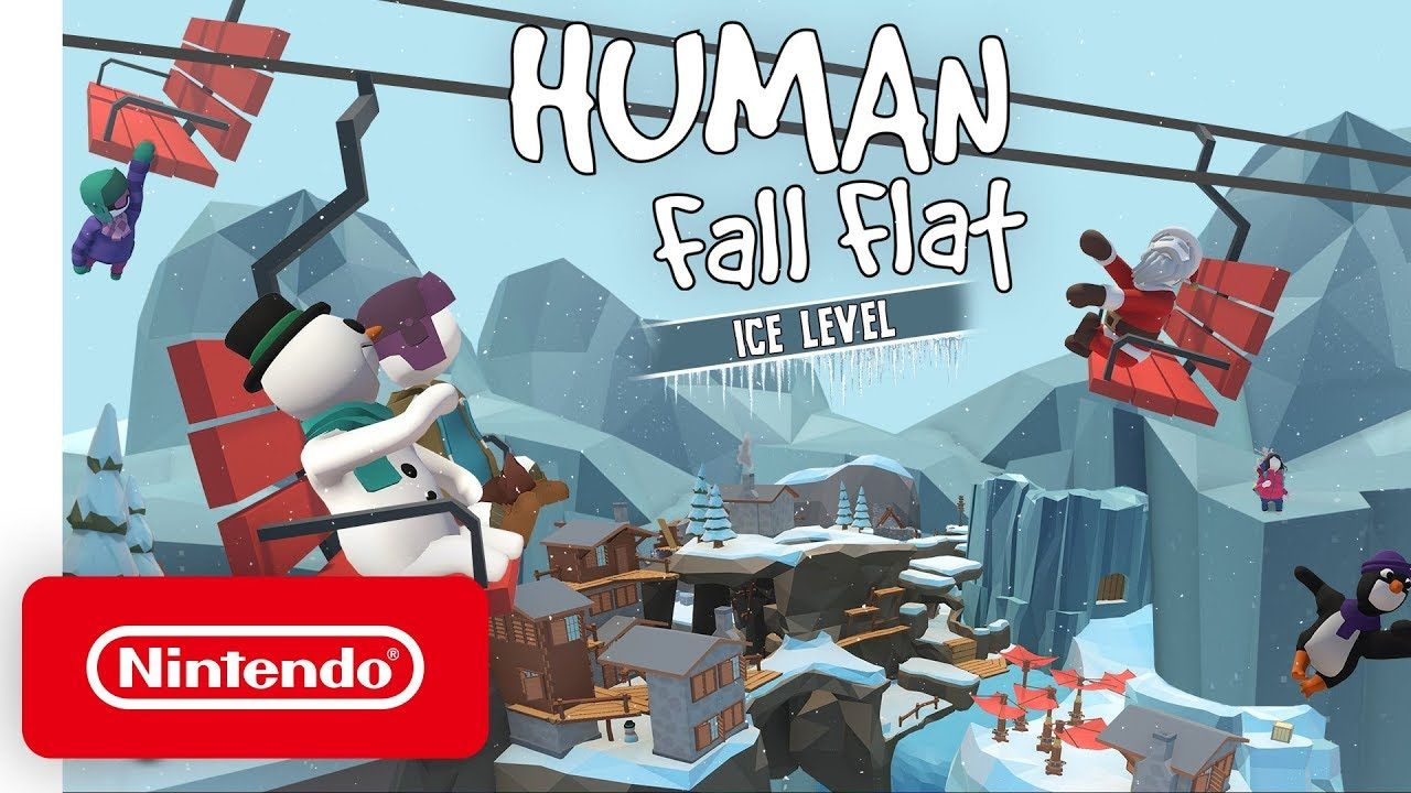 Human Fall Flat Ice Dlc Launch Trailer Nintendo Switch