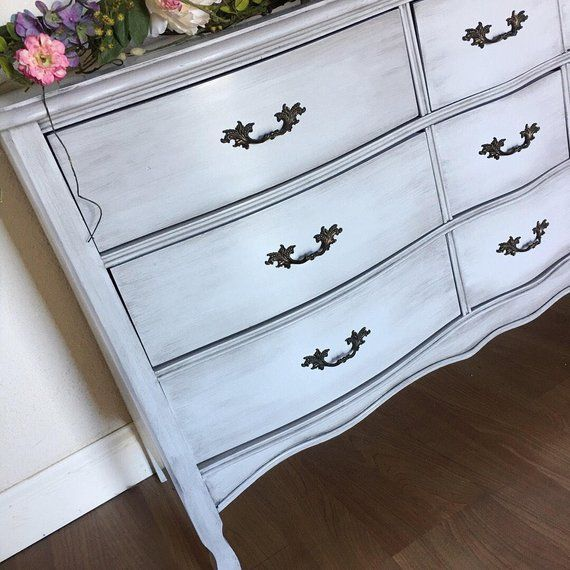 Best Sold Beautiful French Provincial Vintage Triple Dresser 400 x 300