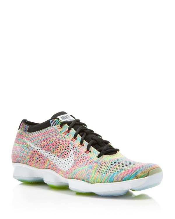 newest d255b 960b4 Nike Lace Up Sneaker - Womens Flyknit Zoom Agility