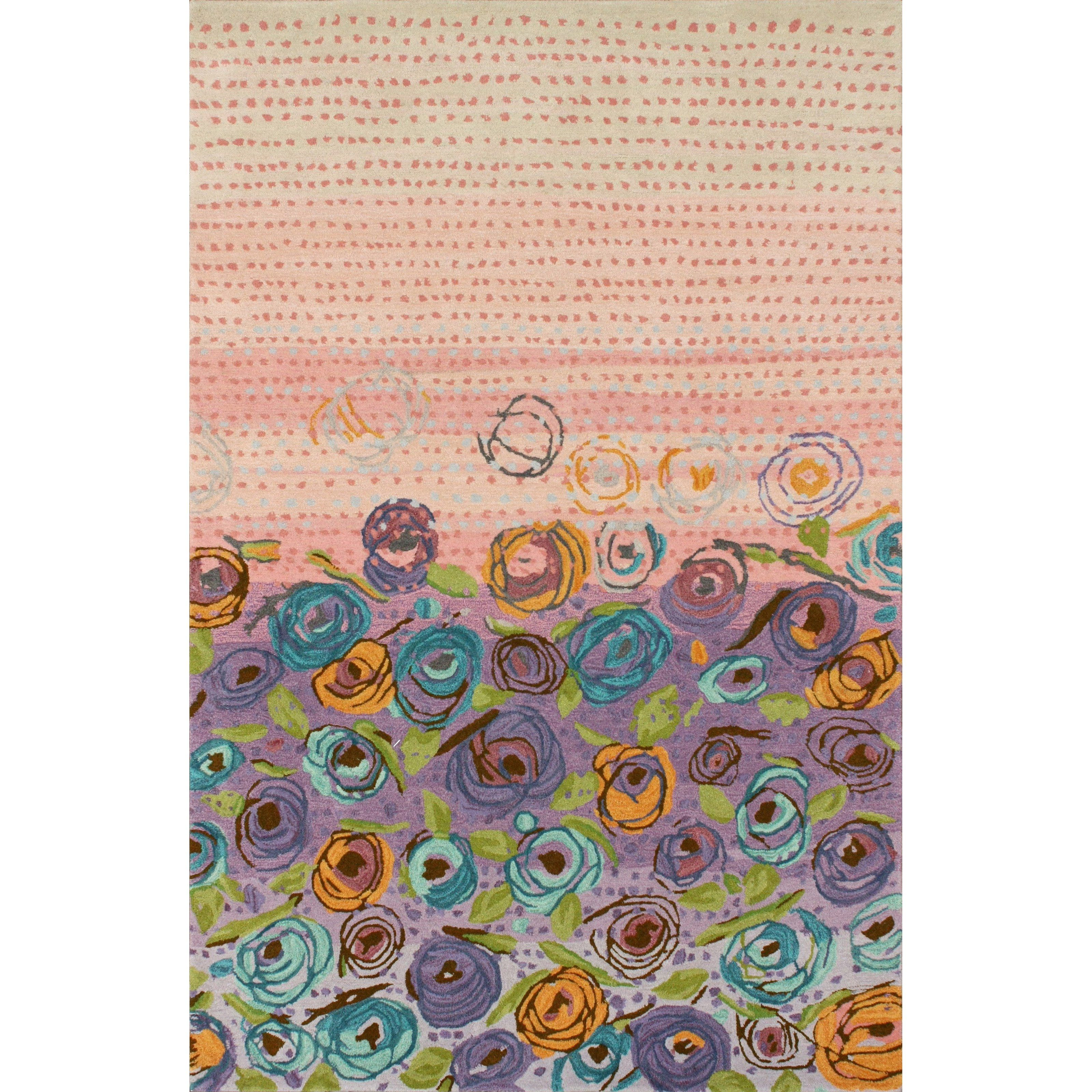 Have to have it. nuLOOM Falling Buds Area Rug - $948.99 @hayneedle
