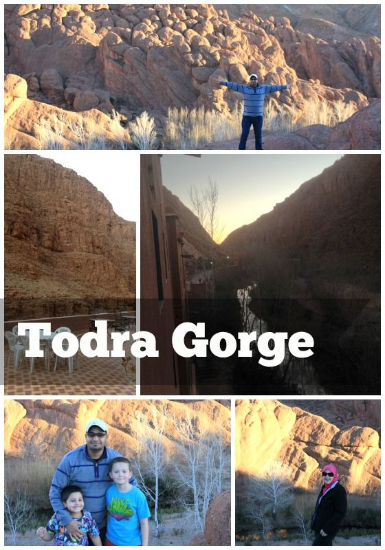 Touring the Todra Gorge