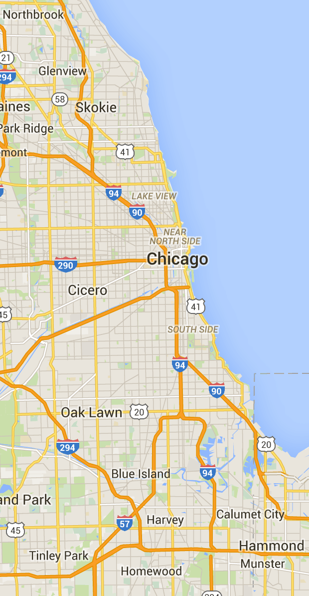 Chicago Safety Map Chicago Gang/Hood Map~Good To Know If You Live In, Around Or Are
