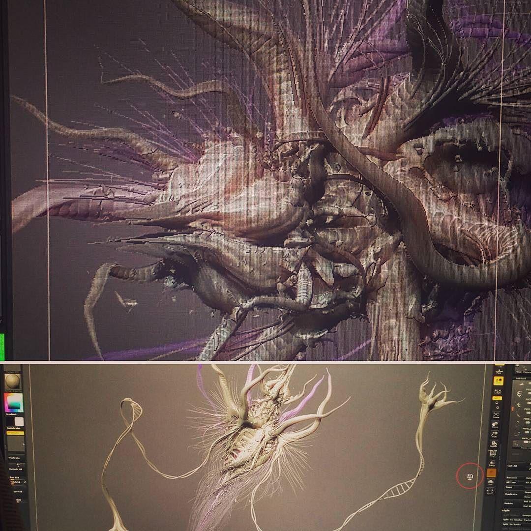 cg #zbrush #3dmax #3d #3dmodel #illustration #visualisation ...