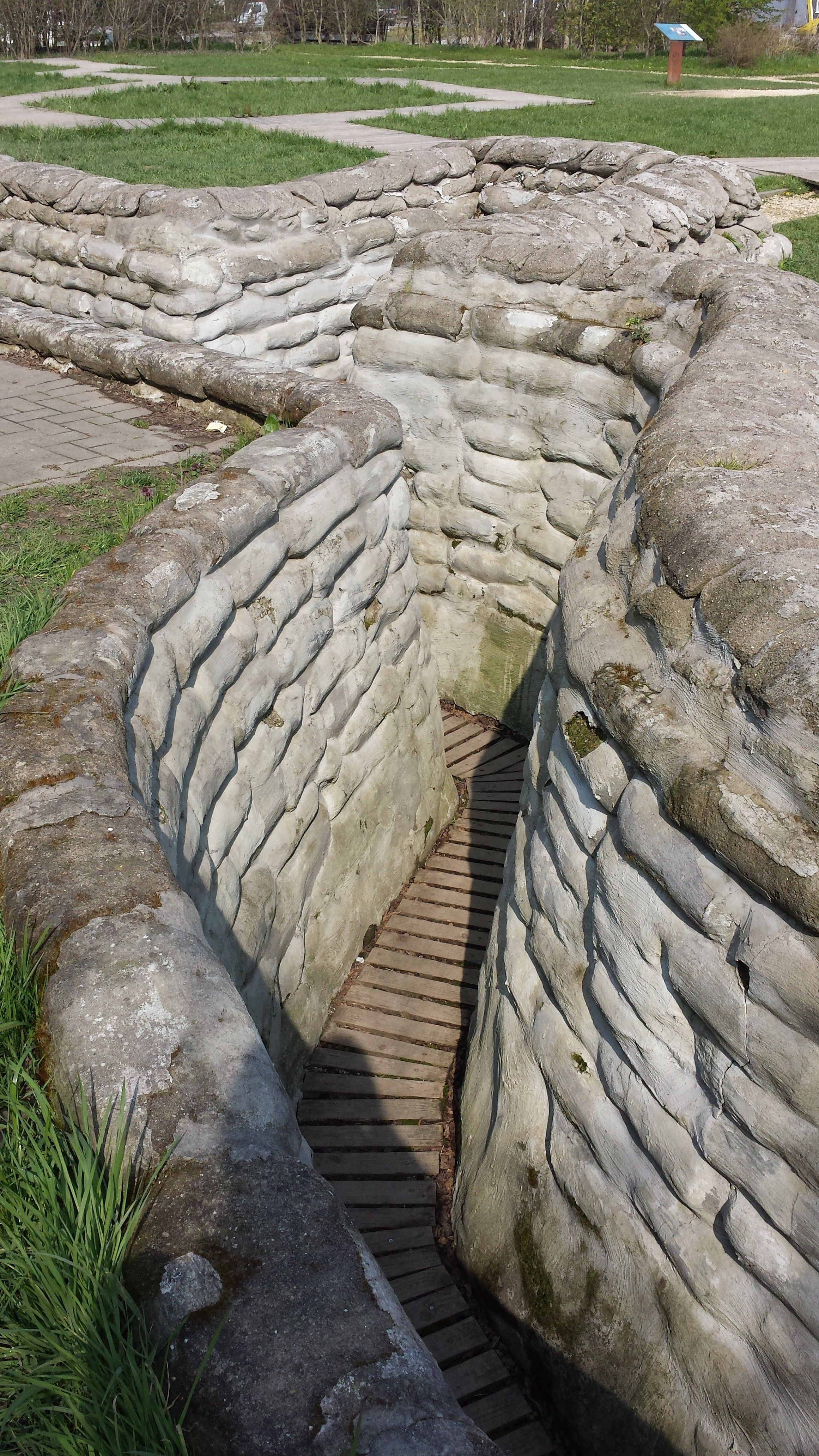 Trenches Ypres Salient Ww I