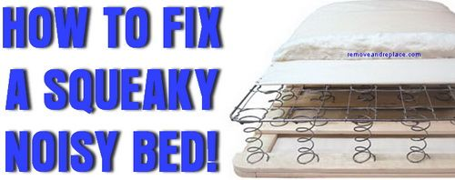 How To Stop A Squeaky Box Spring Mattress With Images Mattress Box Springs