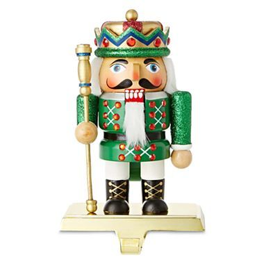Chubby nutcracker stocking holders