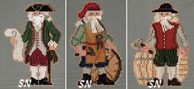 Mill Hill's Colonial Santas Kits for 2013 - click for more