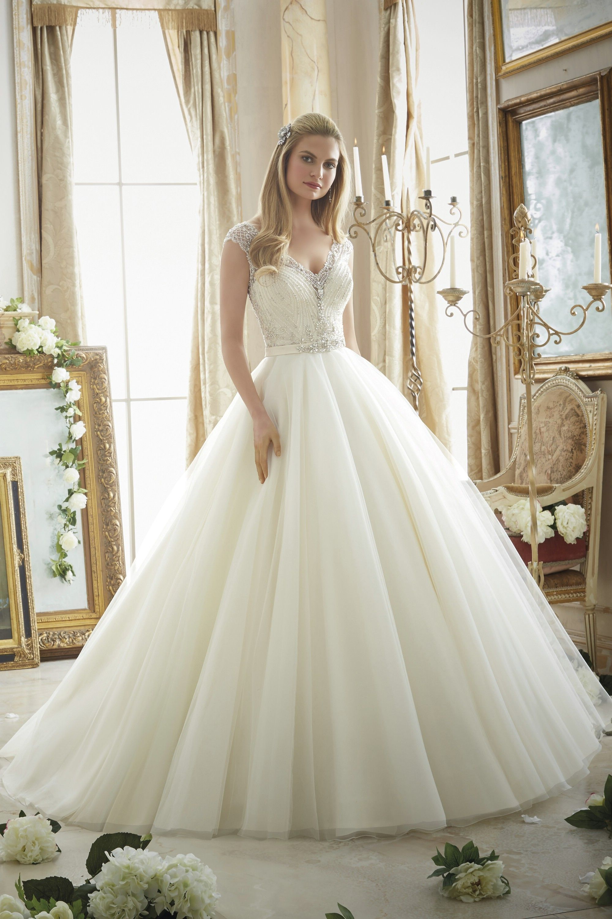 Mori Lee Wedding Dresses - Style 2875 [2875] - $1,275.00 : Wedding ...